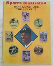 Sports Illustrated May 25, 1970 Hank Aaron-NO MAILING ADDRESS ON COVER!