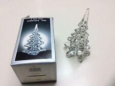 New ListingVintage Clear Glass 6� Tall Christmas Tree