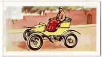 1903 Vauxhall Runabout Tiller Steering Car Vintage Trade Ad Card