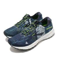 Brooks Ghost 12 Boston Marathon 2020 Navy White Men Running Shoes 110316 1D