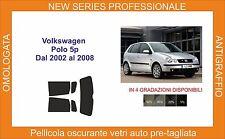 pellicola oscurante vetri volkswagen polo 5p dal 2002 al 2008 kit posteriore