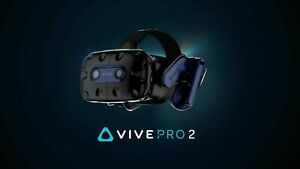 HTC Vive Pro 2 Headset - PC - Pre-Order (EARLY JUNE)