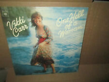 VIKKI CARR - ONE HELL OF A WOMAN rare Vinyl Lp Columbia 1974 Excellent