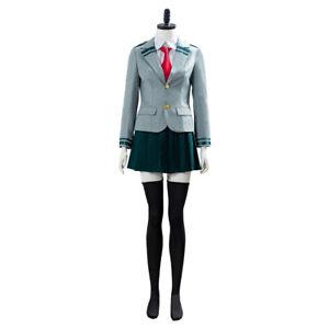 My Hero Academia OCHACO URARAKA Asui Tsuyu Cosplay Costume School Uniform Dress