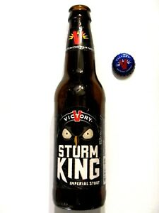 Victory Brewing - Storm King Stout - Empty 12oz Beer Bottle Pennsylvania