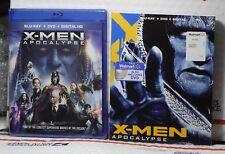 X-Men Apocalypse Now Blu-Ray+Dvd+Digital Hd! W-Rare Fox Slipcover! Sealed