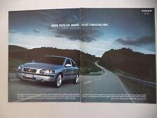 advertising Pubblicità 2001 VOLVO S60 S 60