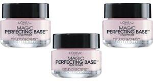 L'Oreal Magic Perfecting Base Face Primer by Studio Secret Professional (3 Pack)