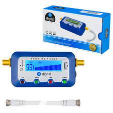 Satfinder Digital sat finder SF-55 LCD Display TON Kompass HDTV 4K UHD Zubehör