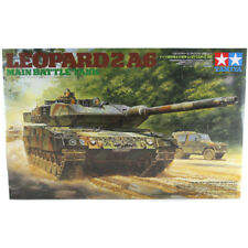 Tamiya Leopard 2 A6 Main Battle Tank (Scale 1:35) Military Model Kit 35271 NEW
