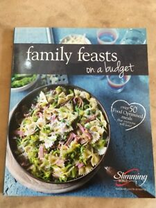 Slimming World Family Feasts On A Budget Extra Easy Cook Book EXC Condition