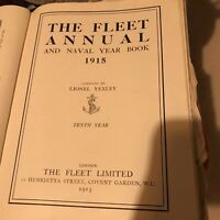 The Fleet Annual And Naval Year Book 1915