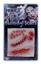 Halloween Adult Fake Zombie Bloody Scars Wounds Special FX