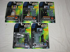 STAR WARS Electronic Power F/X- Obi-Wan Kenobi,Darth Vader,R2-D2,Palpatine,Luke