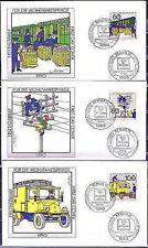 Berlin 1990: Postgeschichte! Wohlfahrtmarken-FDC der Nr. 876 - 878! 1A! 1707