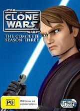 Star Wars THE CLONE WARS Animated SEASON 3 : NEW DVD