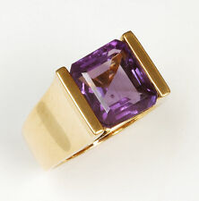 14k Amethyst Ring - 4.50 carats in weight!