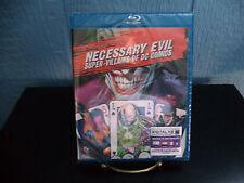 "Necessary Evil: Super Villains of DC Comics ""B"" DVD From Arkham Origins C.E."
