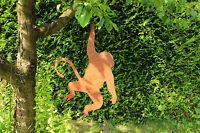 EDELROST Affe groß UUU AAA Tier Skulptur Rost Gartendeko Edel Kunst Dekoration