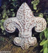 Gostatue animal print fleur de lis plastic mold plaster mold rapid set mould