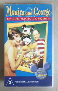 MONICA and GEORGE In The Magic Toyshop   VHS PAL