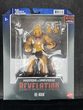 Masterverse Masters Of The Universe Revelation He-Man  Brand New 2021