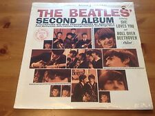 THE  BEATLES' SECOND ALBUM FACTORY SEALED #12 LP DRILL HOLE GOLD RECORD AWARD