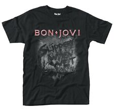 BON JOVI Slippery When Wet Album T-shirt OFFICIAL All Sizes Logo Jon Bon Jovi