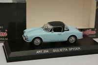 Detailcars 1/43 - Alfa Romeo Giulietta Spyder Bleue