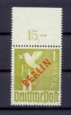Berlin 33 POR dgz. 1 Mark RA postfisch Befund Schlegel einwandfrei (ds68)