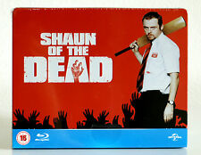 Shaun of The Dead (UK Limited Edition Steelbook) Blu-ray, New