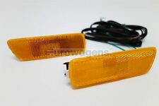 VW GOLF MK4 Orange US Spec sidemarker COURSE PHARES Paire de avec faisceau