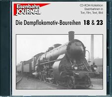 Ferrocarril Journal CD-Dampflokomotiv-realistas 18 & 23
