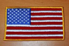 """AMERICAN FLAG PATCH 5"""" X 3"""""""