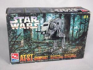 1997 AMT/ERTL Star Wars AT-ST Snapfast Wind-Up Action Walker #6029 NEW SEALED