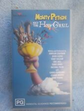 MONTY PYTHON & THE HOLY GRAIL( No 74321360993) VHS TAPE PG(LIKE NEW)