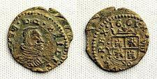 FELIPE IV. 8 Maravedis 1661 Madrid. Y. EBC-/XF- Cobre 1,7 g. Bella y escasa asi
