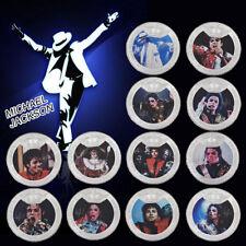 WR 12X Michael Jackson Silber Sammler-Münzen-Set History World Tour Memorabilia