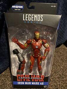 Hasbro marvel legends Iron Man Mark 46 Captain America Civil War Figure