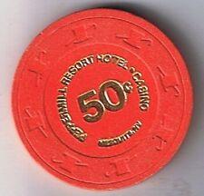 Peppermill Resort Hotel 50¢ Casino Chip Mesquite Nevada
