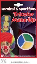 Facepaint Set Makeup -  Green Yellow Blue
