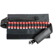 NcStar BLACK 12 Guage 15 Shell Shotgun Shotshell Holder Pouch Bandolier Sling