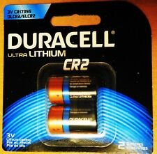 Duracell CR2 ULTRA Lithium 3V Photo Size Battery, DLCR2B2PK (2 Batteries)