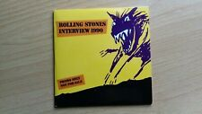The Rolling Stones Interview 1990 Rare 4 Track CD
