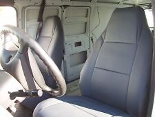 DODGE RAM CARGO VAN IGGEE S.LEATHER CUSTOM FIT SEAT COVER 13 COLORS AVAILABLE