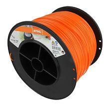 Genuine STIHL 2.4mm X 434 Metros Cable De Línea De Nylon Cortadora Redondo 0000 930 2247