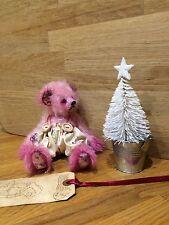 Mohair Ours Shabby Chic artiste Bear veuillez me contacter pour date de livraison