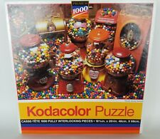 Kodacolor Jigsaw Puzzle Goody Goody Gumballs  1000 Pcs 1994 Vintage NEW Sealed