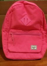 Herschel Supply Heritage Kids Backpack Neon Pink New with Tag