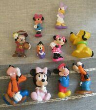 Mickey Mouse clubhouse figure baby bath toy playset Disney Minnie Goofy Daisy